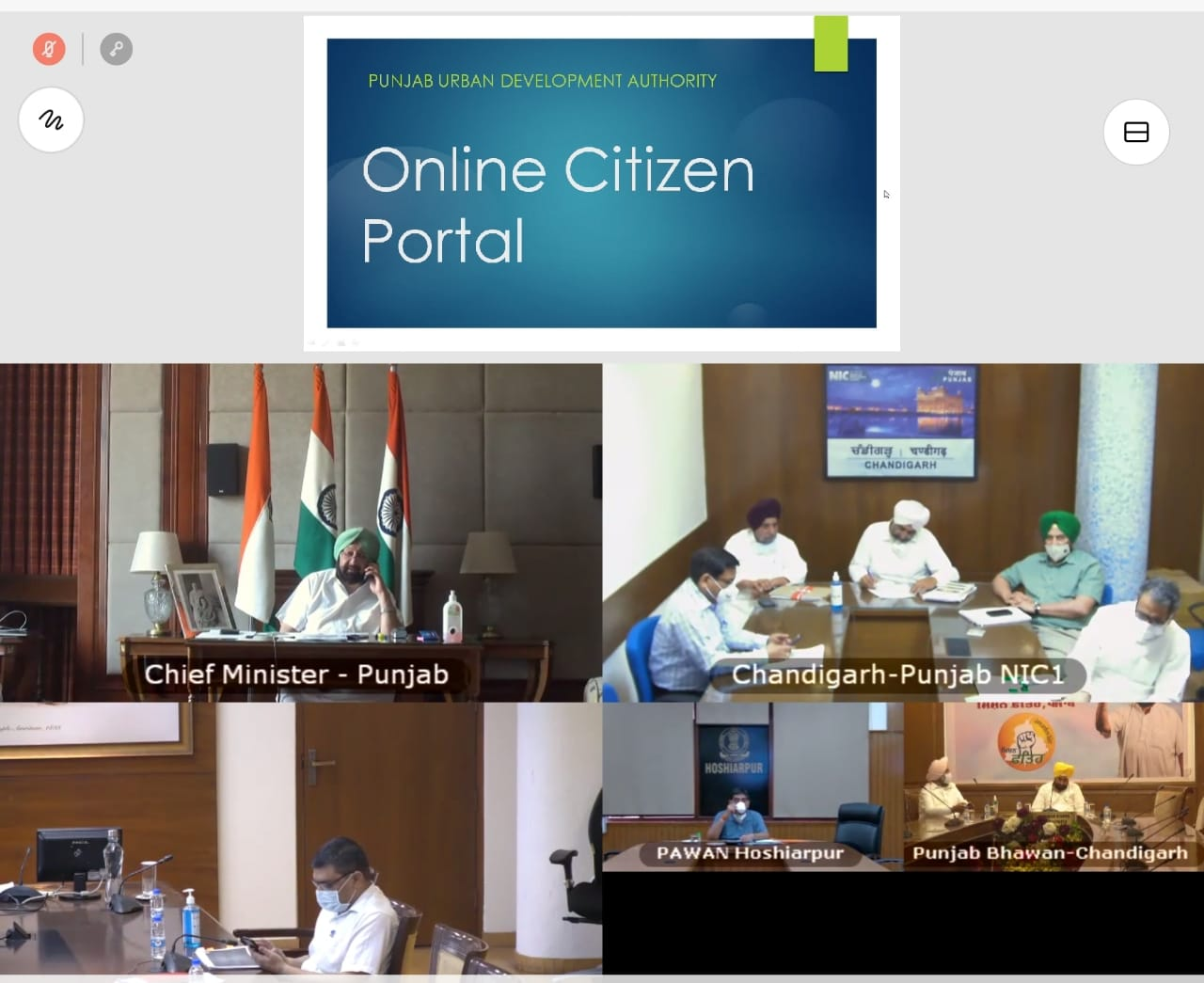 Punjab CM Captain Amarinder Singh launched an online citizen portal to provide all property-related services in a seamless manner.