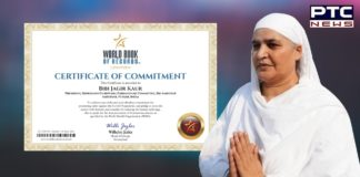 World Book of Records honours SGPC President Bibi Jagir Kaur for promoting safety against COVID-19