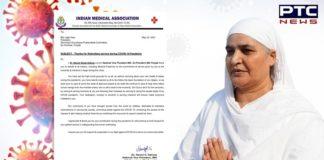 IMA thanks SGPC president Bibi Jagir Kaur for her service during COVID-19