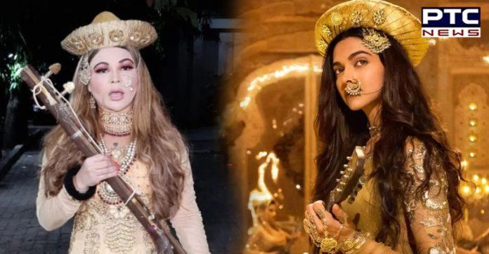 Rakhi Sawant recreates Deepika Padukone's Mastani look; searches for her Bajirao