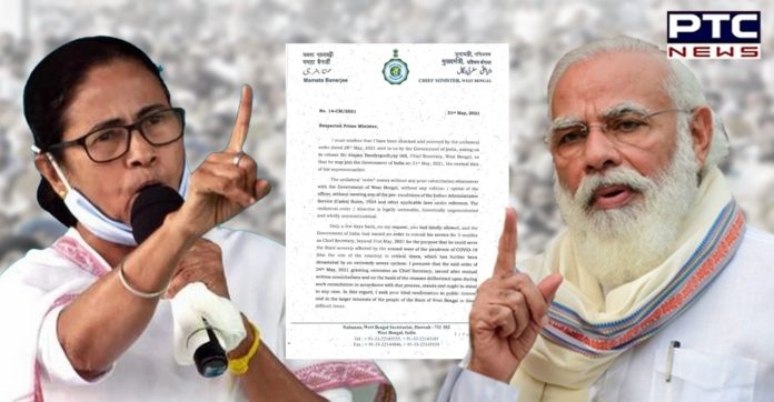 'Shocked, stunned' Mamata Banerjee writes to PM, says can't release West Bengal Chief Secretary