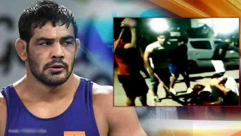 Wrestler Sushil Kumar: Sushil Kumar attacks young wrestler Sagar Rana with  a stick .. Video going viral on social media ..!