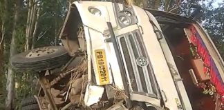 Bus Accident in Jind