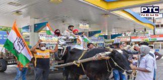 Petrol Pump Protest