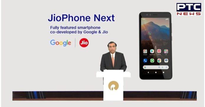 Google, Jio teams jointly developed 'JioPhone Next': Mukesh Ambani