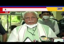 Khattar's controversial statement on the peasant movement