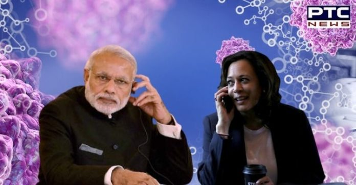 Appreciate COVID-19 vaccine supplies to India: PM Modi thanks US in phone call with Kamala Harris