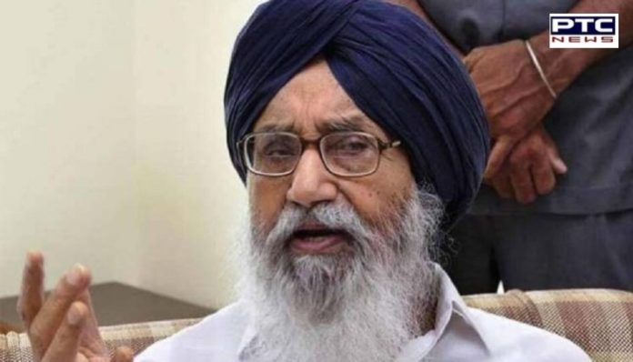 Chandigarh : SIT arrives at the official MLA flat of former CM Parkash Singh Badal questioned in Kotkapura shooting case