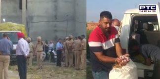Jalandhar Police and excise department Raid illegal liquor factory, bottle caps in Dhogri area