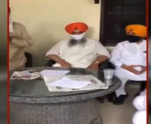 Prem Singh Chandumajra honors BSP leaders After the alliance between SAD and BSP