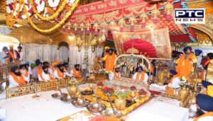 Gurgaddi diwas Sri Guru Hargobind Sahib ji today at Sri Akal Takht Sahib