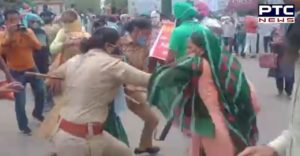Unemployed protesters lathi-charged for protesting outside CM's residence in Patiala