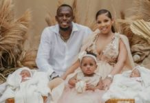 Usain Bolt welcomes twins with girlfriend; shares picture, reveals their names