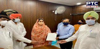 Harsimrat Kaur Badal gives Rs 1.43 cr to Mansa DC for PSA oxygen plant in civil hospital