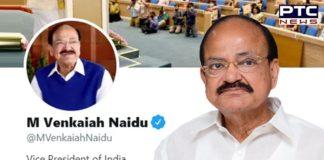 Twitter restores blue tick on VP Venkaiah Naidu's personal handle