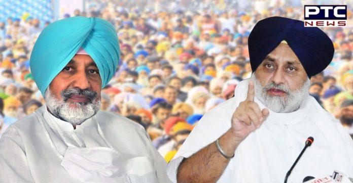 Punjab Vaccine scam: Sukhbir Singh Badal to hold dharna at residence of Balbir Sidhu