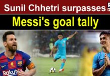 I don't count goals: Sunil Chhetri after surpassing Lionel Messi's tally