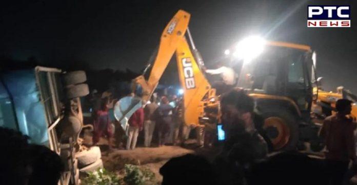 16 killed, six injured in road accident in Uttar Pradesh's Kanpur, says Police