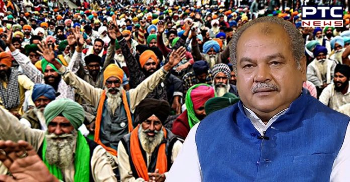 Govt ready to talk if farmers ready to discuss options other than repeal: Narendra Singh Tomar