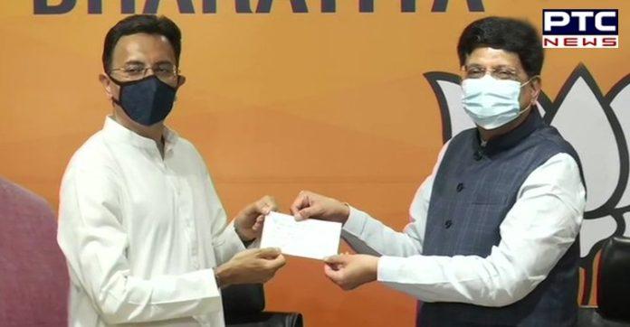 Jitin Prasada joins BJP ahead of 2022 Uttar Pradesh polls