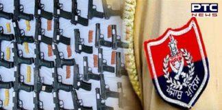 Punjab Police seize huge cache of foreign-made pistols, arrest 1 alleged militant