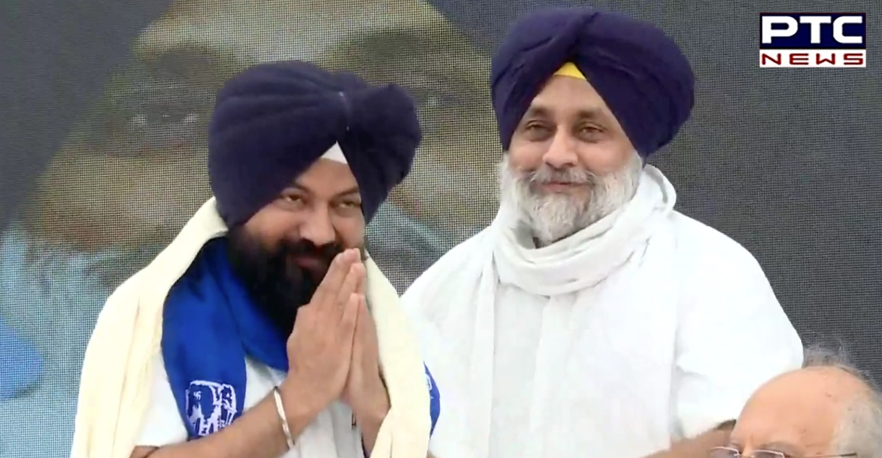 SAD-BSP Alliance: Shiromani Akali Dal President Sukhbir Singh Badal announced alliance with Bahujan Samaj Party for 2022 Punjab Assembly Elections.