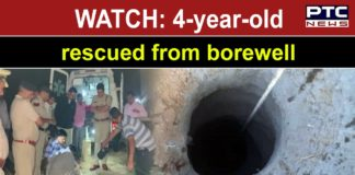 Agra: 4-year-old who fell in a borewell rescued after 9-hour operation by NDRF