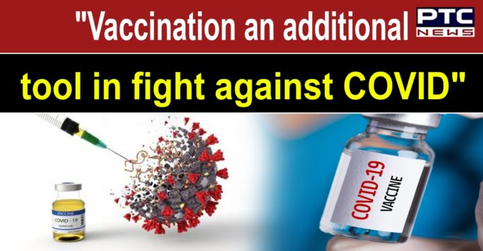COVID-19 vaccination is an additional tool in fight against coronavirus: Centre