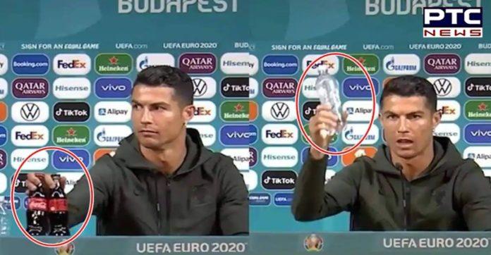 Coca-Cola loses USD 4 billion after Cristiano Ronaldo removes soft drink to endorse water