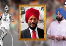 Punjab CM declares one-day state mourning as mark of respect to Milkha Singh
