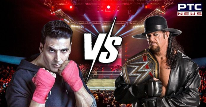 The Undertaker challenges Akshay Kumar for a match, actor says,