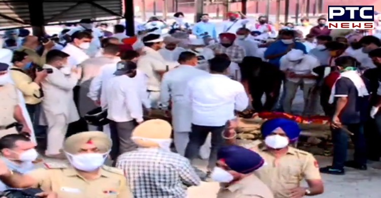The Flying Sikh Milkha Singh cremated in Chandigarh with full state honours