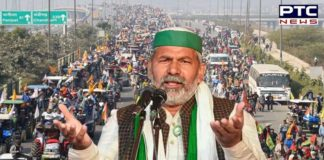 BKU leader Rakesh Tikait incites protesting farmers, tells them to 'be ready with tractors'