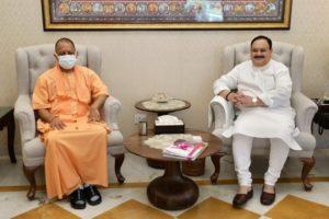 Uttar Pradesh CM Yogi Adityanath meets PM Modi, next stop JP Nadda's house Amid Talk Of UP Changes