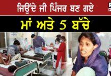uttar pradesh : hunger family 10 days food ill poor lockdown no work In Aligarh uttar pradesh
