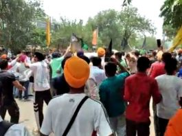 Protesting farmers gheraoed BJP leaders in Chandigarh, several detained