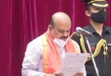 Basavaraj Bommai sworn-in as Karnataka's 11th chief minister