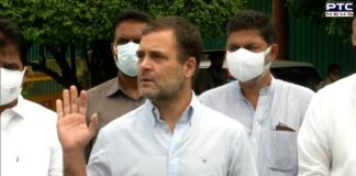 Rahul Gandhi seeks Amit Shah's ouster over Pegasus controversy