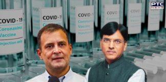 Rahul Gandhi takes dig at new Health Minister Mansukh Mandaviya over vaccine shortage