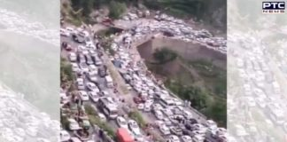 Fact Check: Viral clip of traffic snarl is not from Himachal Pradesh