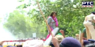 Chandigarh Police resorts to water cannons to disperse protesting Punjab school teachers