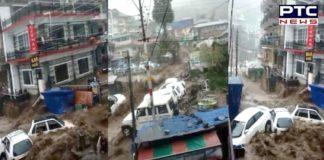 Himachal Pradesh: Rains wreak havoc; cloudburst in Dharamshala triggers flood-like situation