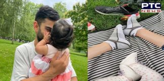 Anushka Sharma shares first pic of daughter Vamika with Virat Kohli