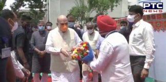 Amit Shah inaugurates PSA oxygen plant named after Sardar Vallabhbhai Patel in Gujarat