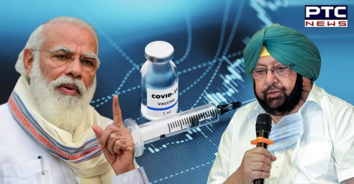 Punjab CM asks Centre for 40 lakh vaccine doses to vaccinate eligible population