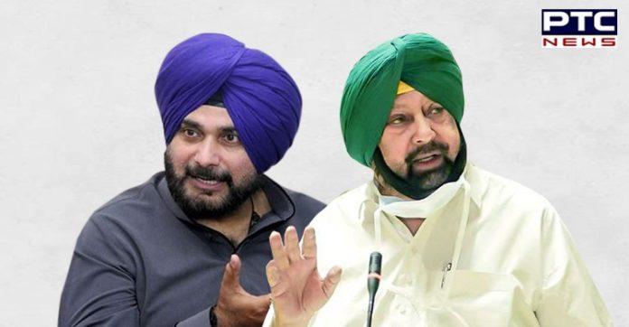 'Khela shuru...Sidhu 62, Captain 15': BJP takes jibe over Punjab Congress crisis