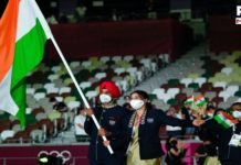 Tokyo Olympics 2020: Manpreet Singh, Mary Kom lead Indian contingent at opening ceremony