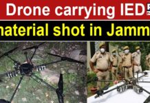 Terror attack foiled, Jammu and Kashmir police shoots down drone carrying IED material