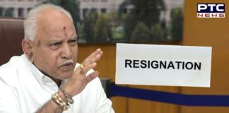 Karnataka CM BS Yediyurappa heeds to high command, resigns