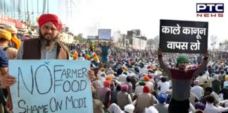 The farmers have been sitting at the Delhi borders since November last year.